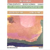 Rorem: String Symphony, Sunday Morning, Eagles / Shaw
