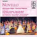 MUSICAL & OPERETTA HIGHLIGHTS:NOVELLO:GLAMOROUS NIGHT & CARELESS RAPTURE/ETC:K.ALWYN(cond)/NEW WORLD SHOW ORCHESTRA/P.JOHNSON(Ms)/J.STODDARD/ETC