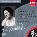 ON WINGS OF SONG -ZARZUELA ARIAS:BRAHMS/CHAPI/DELIBES/ETC:V.DE LOS ANGELES(S)/R.F.DE BURGOS(cond)/SINFONIA OF LONDON/ETC