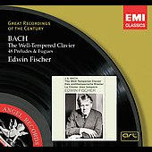 J.S.Bach :The Well-Tempered Clavier -48 Preludes & Fugues BWV.846-BWV.893 (1933-36):Edwin Fischer(p)