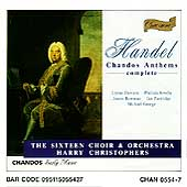 Handel: Chandos Anthems no 1-11 / Christophers, The Sixteen