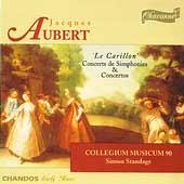 Aubert: Concerts de Simphonies & Concertos / Standage