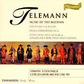 Telemann: Music of the Nations / Standage, Collegium M90