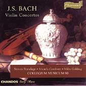 J.S.Bach: Violin Concertos / Standage, Collegium Musicum 90