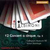 Albinoni: 12 Concerti a Cinque Op 5 / Standage, et al