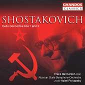 Shostakovich: Cello Concertos / Frans Helmerson, et al