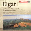 ELGAR:SYMPHONIES NO.1/NO.2/THE SANGUINE FAN/FROISSART-CONCERT OVERTURE:B.THOMSON(cond)/LPO