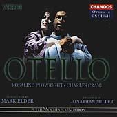 Opera in English - Verdi: Otello / Elder, Plowright, et al
