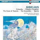 Sibelius: Finlandia, Pohjola's Daughter, etc / Gibson