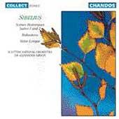 Sibelius: Scenes Historiques, etc / Gibson, Scottish Natl