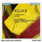 Elgar: Cello Concerto, Falstaff / Kirshbaum, Gibson