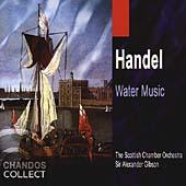 Handel: Water Music / Gibson, Scottish Chamber Orchestra