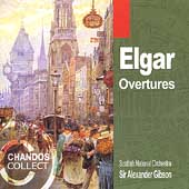Elgar: Overtures / A. Gibson, Scottish National Orchestra