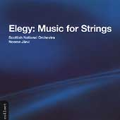 Elegy for Strings / Neeme Jaervi, Royal Scottish National