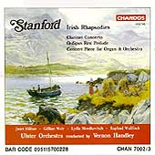 Stanford: Irish Rhapsodies, etc / Handley, Ulster Orchestra