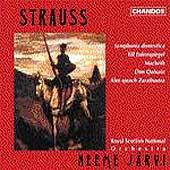Strauss: Symphonic Poems Vol 2 / Jaervi, Royal Scottish NO