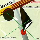 Bartok: Complete String Quartets / Chilingirian Quartet