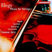 Elegy - Music for Strings / Jaervi, Royal Scottish NO