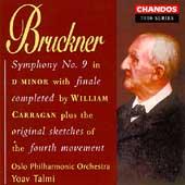Bruckner: Symphony no 9 / Yoav Talmi, Oslo Philharmonic