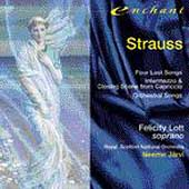 Strauss: Four Last Songs, etc / Lott, Jaervi, Royal Scottish