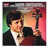 Barber, Shostakovich: Cello Concertos / Wallfisch, Simon