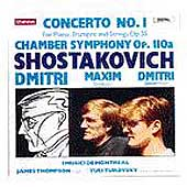 Shostakovich: Piano Concerto no 1, etc / Shostakovich, et al