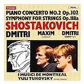 マキシム・ショスタコーヴィチ/Shostakovich: Piano Concerto no 2, etc / Shostakovich [CHAN8443]