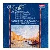 Vivaldi: Six Concertos / Turovsky, I Musici de Montreal