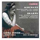 Schumann: Frauenliebe und Leben, etc; Brahms / Linda Finnie