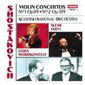 Shostakovich: Violin Concertos 1 & 2 / Mordkovitch, Jaervi