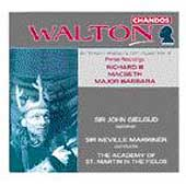 Walton - Music from the Olivier Films - Richard III, Macbeth / Marriner, Gielgud, ASMF