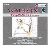 Walton: Facade / Hickox, Walton, Baker, London Sinfonia