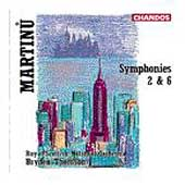 Martinu: Symphonies 2 & 6 / Thomson, Royal Scottish NO