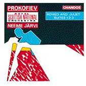 Prokofiev: Romeo and Juliet Suites nos 1-3 / Neeme Jarvi(cond), Scottisn National Orchestra