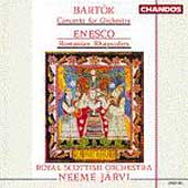 Bartok: Concerto for Orchestra;  Enesco / Neeme Jaervi