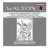 Walton: Portsmouth Point, etc / Thomson, London Philharmonic