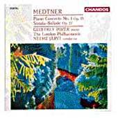 Medtner: Piano Concerto no 1, etc / Tozer, Jarvi, London PO