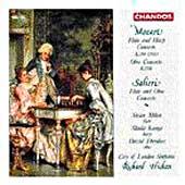 Mozart: Flute and Harp Concerto, etc;  Salieri / Hickox