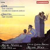 Gliere, Ginastera: Harp Concertos, etc / Masters, Hickox