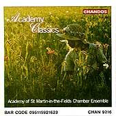 Academy Classics / ASMF Chamber Ensemble