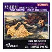 Respighi: Concerto Gregoriano, etc / Mordkovich, Downes
