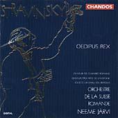 Igor Strawinsky:Oedipus Rex/Neeme Jrvi, L'Orchestre de la Suisse Romande