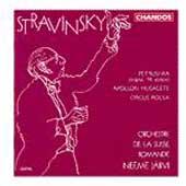 Stravinsky: Petrushka, Apollon Musagete / Neeme Jaervi