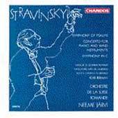 Stravinsky: Symphony of Psalms, Symphony in C / Neeme Jaervi