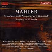 Mahler: Symphony no 8, etc / Segerstam, Danish NRSO