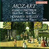 Mozart: Piano Concertos Vol 5 - nos 13 & 24 / Howard Shelley