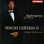 Rachmaninov: Songs / Sergei Leiferkus, Howard Shelley