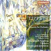 Tippett: Triple Concerto, Concerto for Orchestra / Hickox
