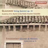 Glazunov: String Quintet;  Tchaikovsky: Souvenir / ASMF