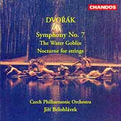 Dvorak: Symphony no 7, etc / Belohl vek, Czech PO